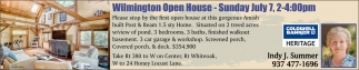 Wilmington Open House July 7
