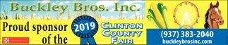 Proud sponsor of the Clinton County Fair