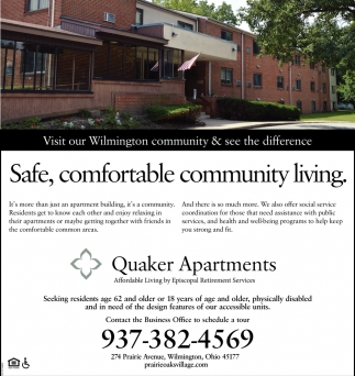 Safe, comfortable community living