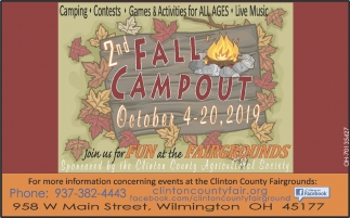 2nd Fall Campout