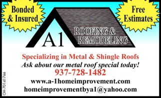 Specializing in Metal & Shingle Roofs