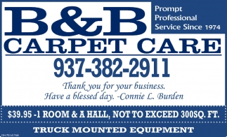 Prompt Professional Service Since 1974