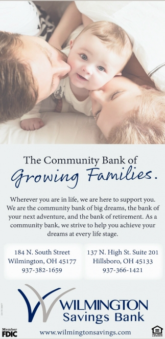 The Community Bank of Growing Families