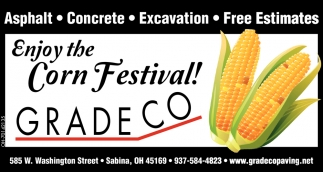 Enjoy the Corn Festival