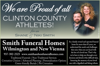 We are Proud of All Clinton County Athletes!