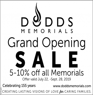 Grand Opening Sale