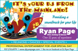 It's Your Dj From the Mainland