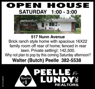 Open House - 517 Nunn Avenue, Wilmington
