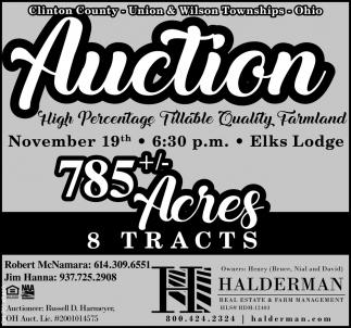 Auction - November