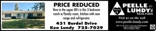 Open House - 431 Burdel Drive