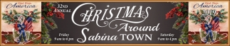 32nd Annual Christmas Around Sabina Town