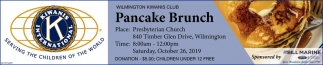 Pancake Brunch - October 26