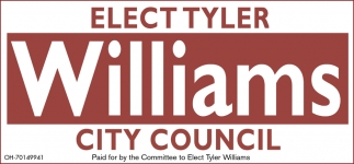 Elect Tyler Williams City Council