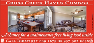 A Chance for a maintenance free living look inside