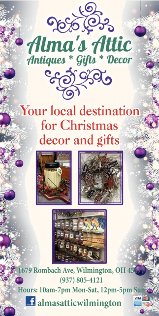 Your local destination for Christmas decor and gifts