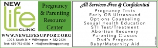 Pregnancy & Parenting Resource Center