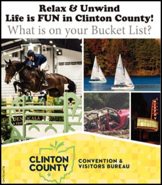 Relax & Unwind - Life is Fun in Clinton County!