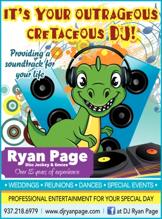 It's Your Outrageous Cretaceous Dj!