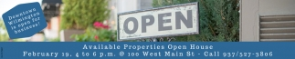 Available Properties Open House