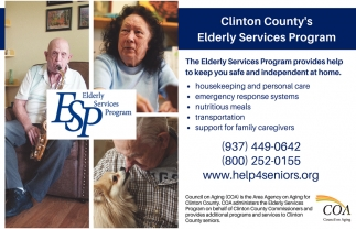 Provides help to keep you safe and independent at home