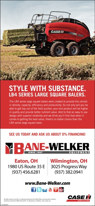 LB4 Series Large Square Balers