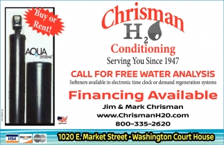 Call for free water analysis