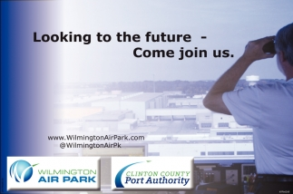 Looking to the future. Come join us