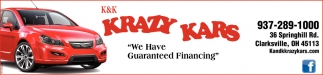 We Have Guaranteed Financing