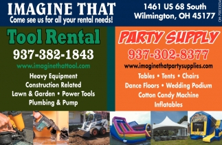 Come see us for all your rental needs