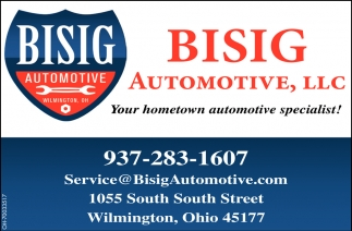 Your hometown automotive specialist!