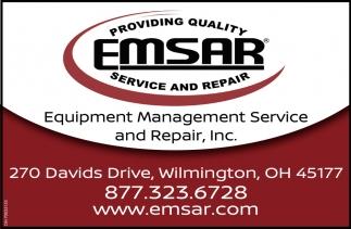 Equipment Management Service