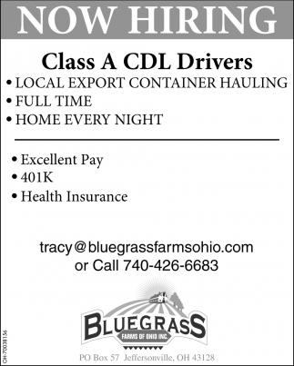 Class A CDL Driverr