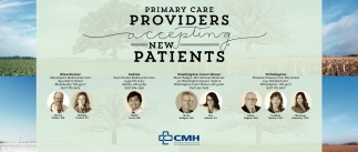 Primary Care providers acepting new patients