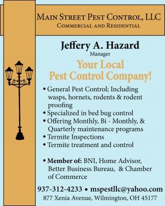 Jeffery A. Hazard