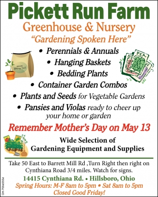 Greenhouse & Nursery