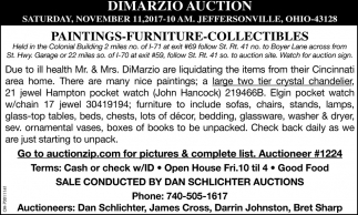 Dimarzio Auctions
