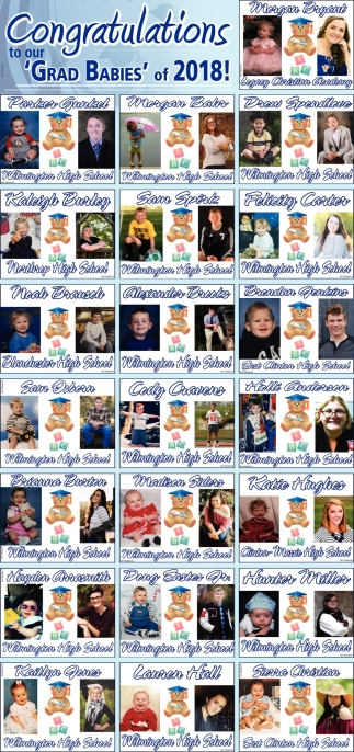 Congratulations to our Grad Babies of 2018