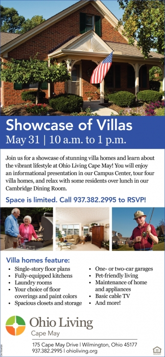 Showcase of Villas