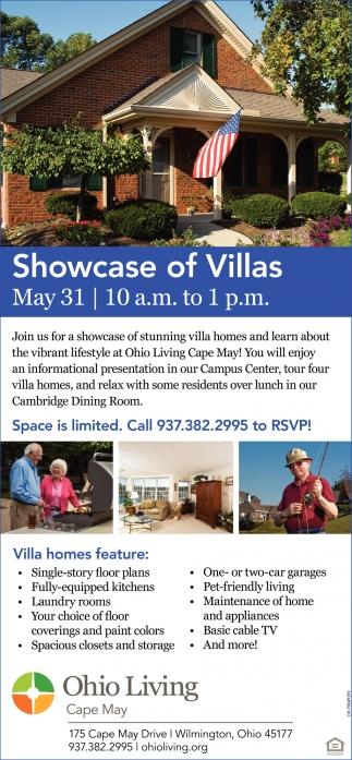 Showcase of Villas