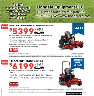 Lawn and Garden, Farm Equipment
