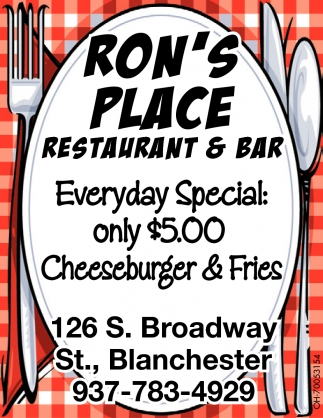 Only $5 Cheeseburger & Fries