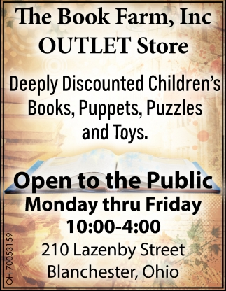 Discounted Children's Books, Puppets and Toys