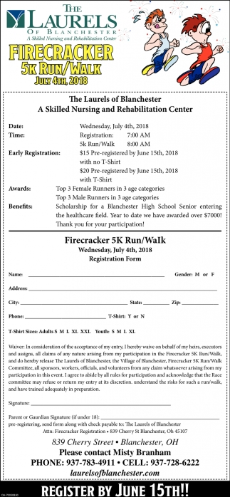 Firecracker 5k Run / Walk