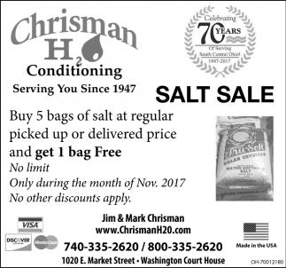 Salt Sale