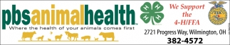 Where the health of your animals comes first