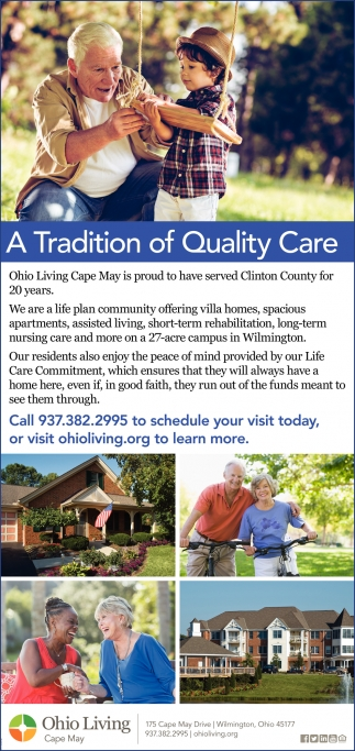 A Tradition of Quality Care