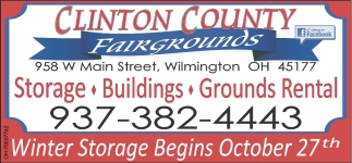Storage, Buildings, Grounds Rental