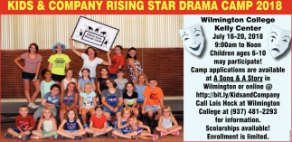 Kids & Company Rising Star Drama Camp 2018