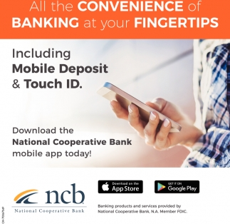 Mobile Deposit, Touch ID
