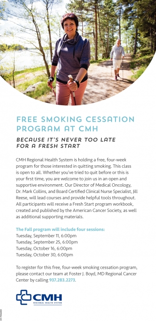Free Smoking Cessation Program